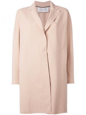 Однобортное пальто Harris Wharf London. Цвет: розовый и фиолетовый