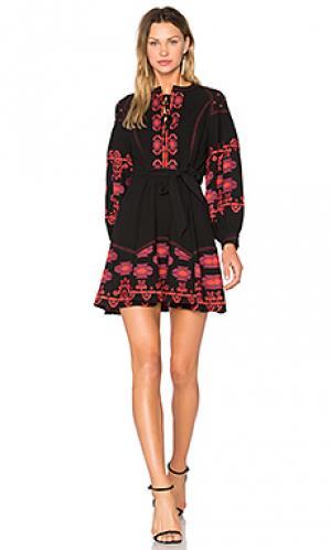 Платье marrakech Central Park West. Цвет: черный