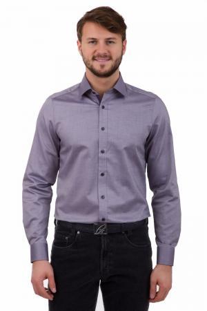 Рубашка с длинным рукавом Olymp. Цвет: фиолетовый