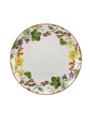 Набор тарелок  20 см. (3шт.) Tognana porcelane. Цвет: белый