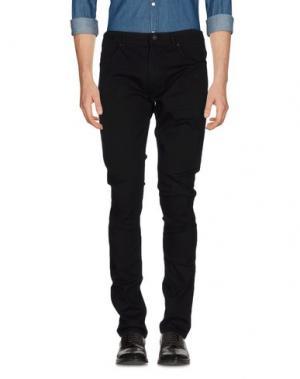 Повседневные брюки 55DSL. Цвет: черный