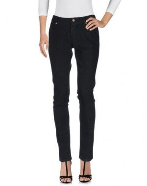Джинсовые брюки SUPERFINE. Цвет: черный