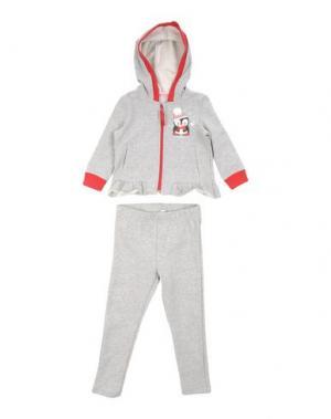 Спортивный костюм MIRTILLO. Цвет: серый