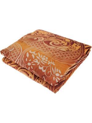 Одеяло 1,5-спальное ЭГО. Цвет: коричневый