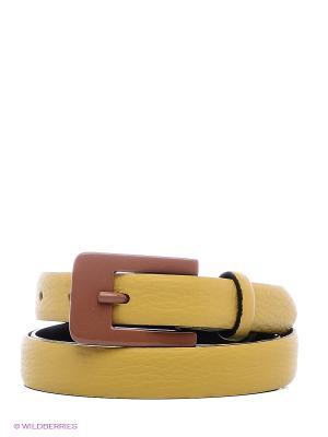 Ремень TOSCA BLU. Цвет: желтый