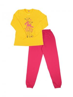 Пижама Cherubino. Цвет: желтый