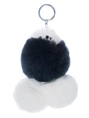 Брелок - подвеска Собачка Castlelady. Цвет: серый, белый, темно-серый
