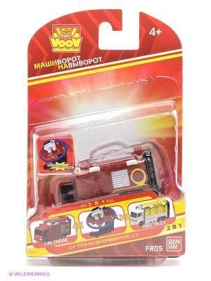 Игрушка Пожарная машина Bandai. Цвет: красный, желтый