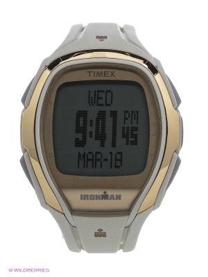 Часы TIMEX. Цвет: золотистый, белый
