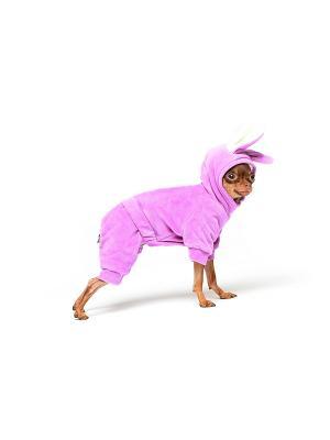 Спортивный костюм для собак Ай Да Пес. Цвет: розовый