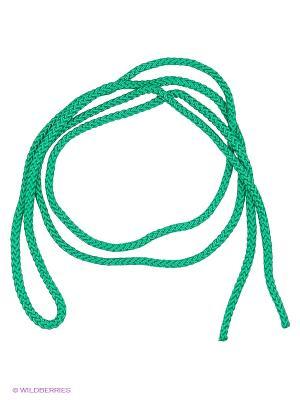 Скакалка гимнастическая Larsen. Цвет: зеленый