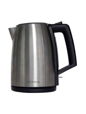 Чайник Supra KES-1736 1.7л. 2400Вт серебристый (пластик). Цвет: серебристый
