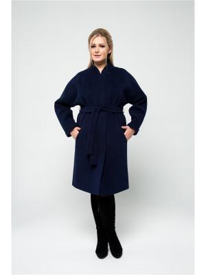Пальто KR. Цвет: темно-синий
