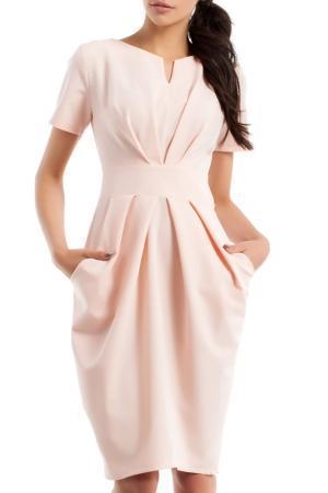 Платье Moe. Цвет: розовый