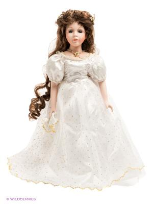 Кукла фарфоровая Моника Lisa Jane. Цвет: бледно-розовый, белый