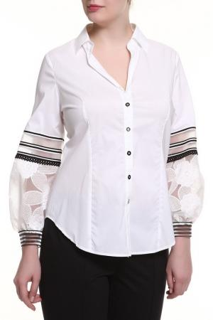 Рубашка Maria Grazia Severi. Цвет: белый
