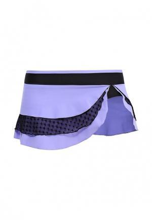 Юбка-шорты Dali. Цвет: фиолетовый