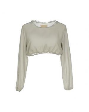 Блузка CARLO CONTRADA. Цвет: светло-зеленый