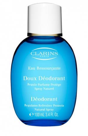 Дезодорант Eau Ressourcante Clarins. Цвет: бесцветный