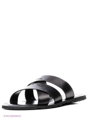 Пантолеты Mario Ponti. Цвет: черный