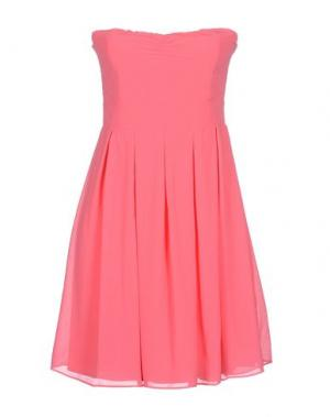 Короткое платье DUCK FARM. Цвет: фуксия