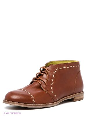 Ботинки Calipso. Цвет: коричневый
