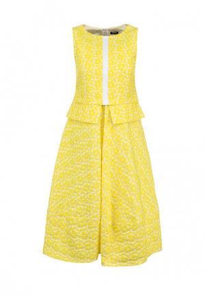 Платье Jil Sander Navy. Цвет: желтый