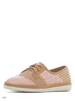 Ботинки Camidy. Цвет: розовый