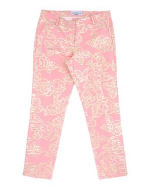 Повседневные брюки SIMONETTA. Цвет: розовый
