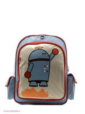 Рюкзак Beatrix NY. Цвет: белый, голубой, красный