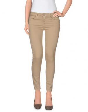 Джинсовые брюки BLAUER. Цвет: песочный