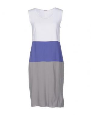 Короткое платье GIOFERRARI. Цвет: белый
