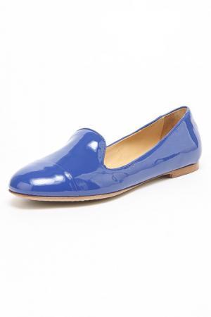Лоферы Redwood. Цвет: голубой
