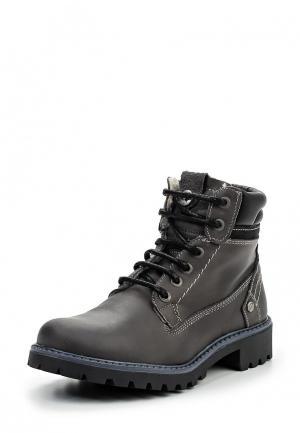 Ботинки Wrangler. Цвет: серый