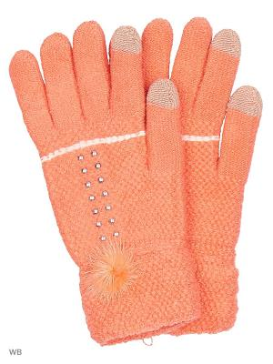Сенсорные перчатки Punta. Цвет: коралловый