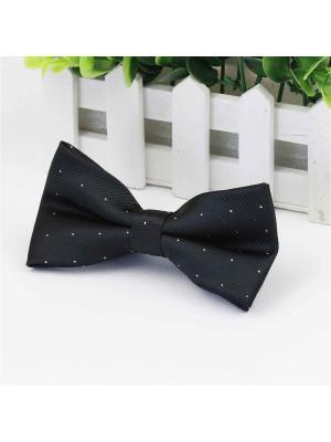 Галстук-бабочка Churchill accessories. Цвет: черный, белый