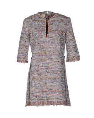 Короткое платье NANUSHKA. Цвет: синий