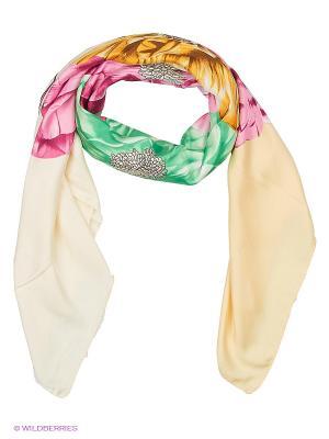 Платок Sabellino. Цвет: персиковый