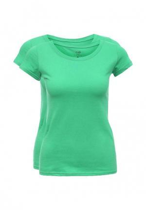 Комплект футболок 2 шт. oodji. Цвет: зеленый