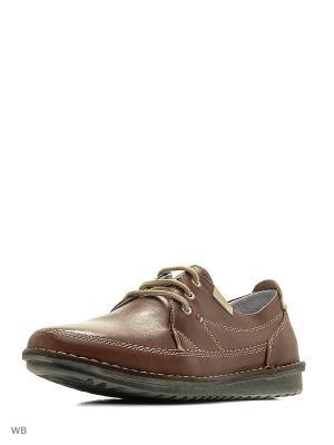 Ботинки THOMAS MUNZ. Цвет: светло-коричневый