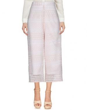Повседневные брюки TOY G.. Цвет: светло-розовый