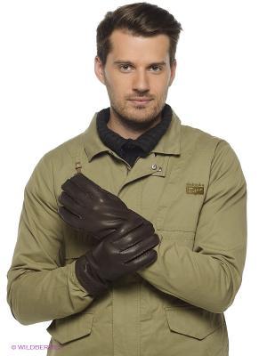Перчатки GIORGIO REDAELLI. Цвет: коричневый