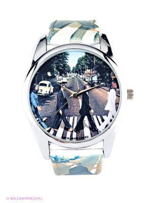 Часы Mitya Veselkov. Цвет: бежевый, белый, черный