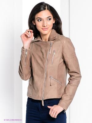 Куртка Bogner Jeans. Цвет: бежевый