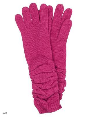 Перчатки Pur. Цвет: фуксия