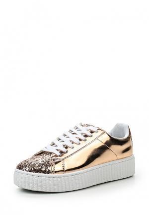 Кеды WS Shoes. Цвет: золотой