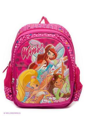 Рюкзак школьный Winx Club Sophix. Цвет: фуксия, розовый, желтый, зеленый, голубой