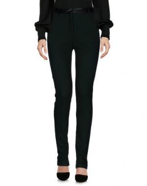 Повседневные брюки KORALLINE. Цвет: зеленый