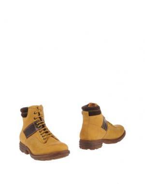 Полусапоги и высокие ботинки POLICE 883. Цвет: охра