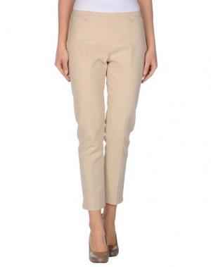 Повседневные брюки TARA JARMON. Цвет: песочный